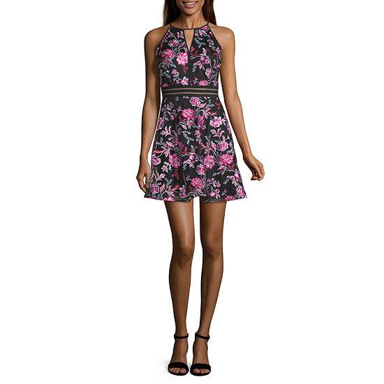 by&by Sleeveless Dress Set-Juniors