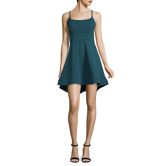 Trixxi Sleeveless Dress Set-Juniors