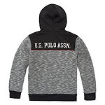 Us Polo Assn. Boys Embroidered Hoodie-Big Kid