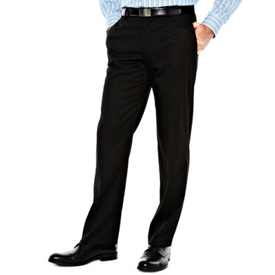 Men's Van Heusen® Flat-Front Straight-Leg Slim Fit Studio Pants