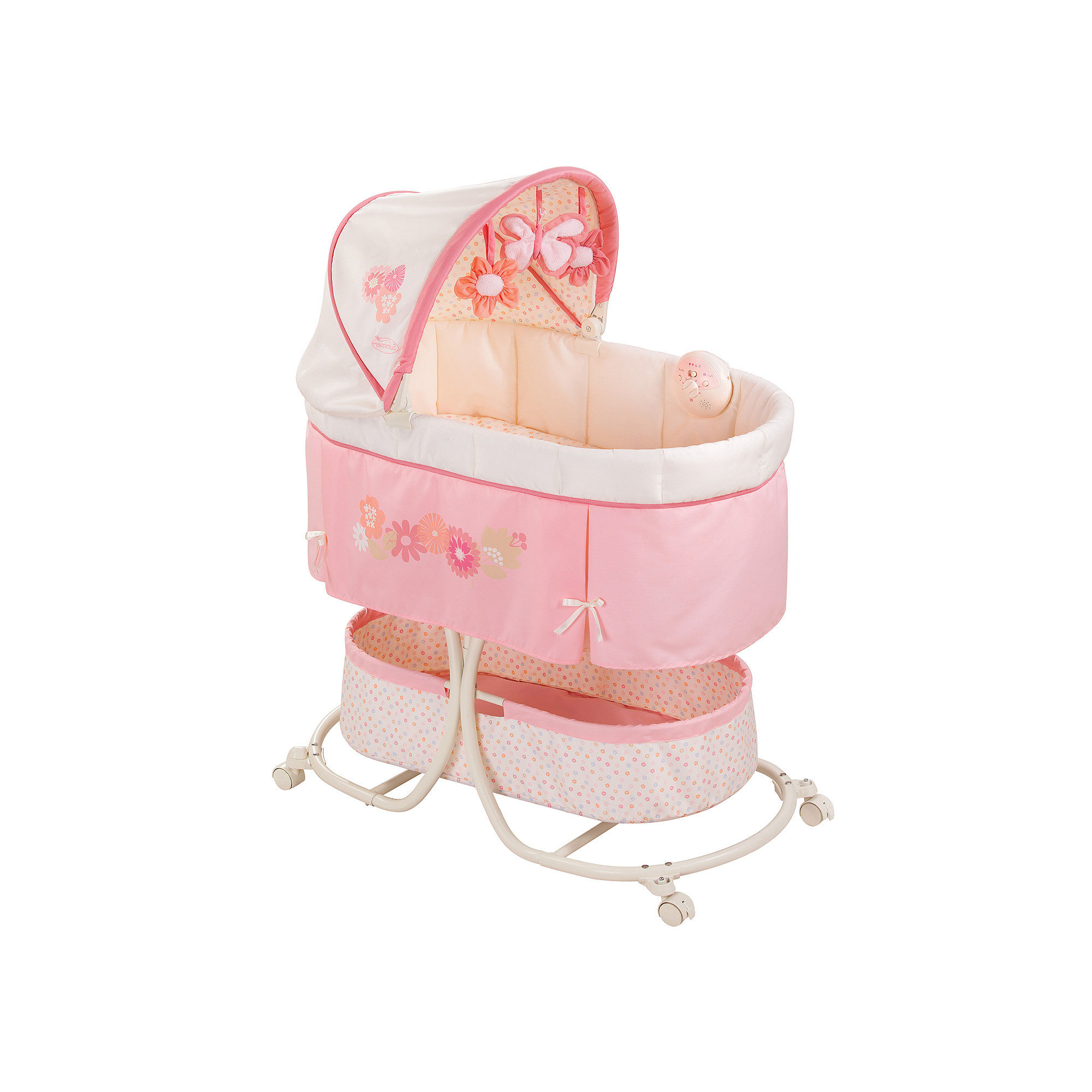 Fisher Price Soothing Motions Bassinet Portable Bed Reviews