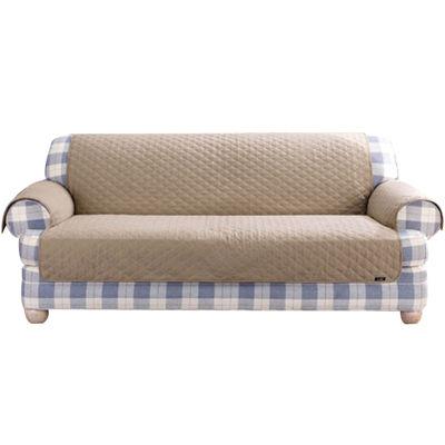 Merveilleux SURE FIT® Cotton Duck Sofa Pet Furniture Cover