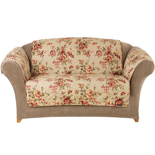 SURE FIT® Lexington Floral 1-pc. Loveseat Pet Furniture Cover