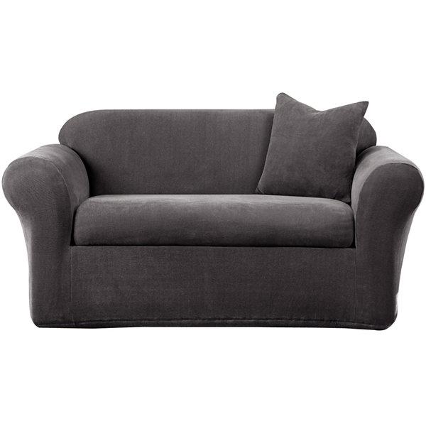 Sure Fit Stretch Metro 2 Pc Sofa Slipcover