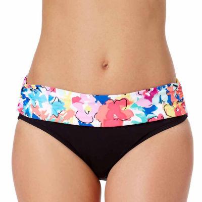 Liz Claiborne Floral Hipster Swimsuit Bottom