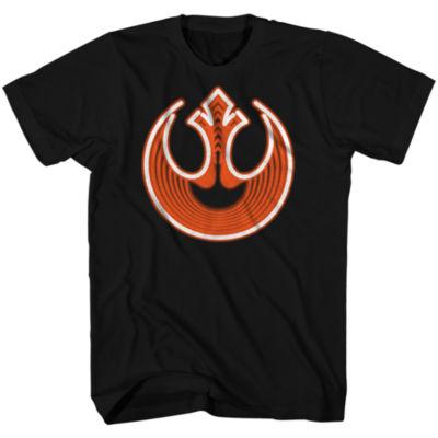 Short Sleeve Star Wars Tv + Movies Neon Rebel  Graphic T-Shirt
