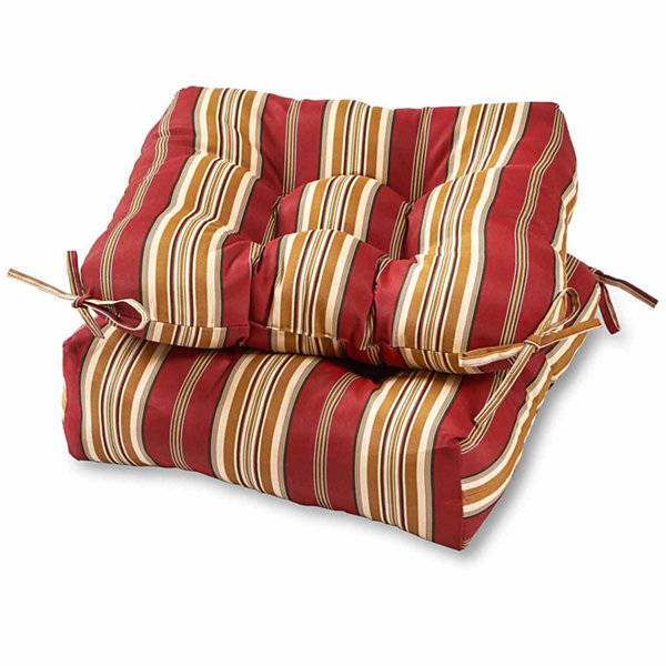 "20"" Outdoor Chair Cushion Set Of 2"