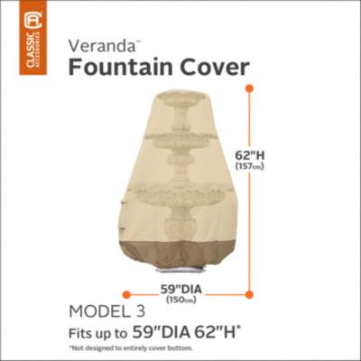Classic Accessories® Veranda Fountain Cover Model 3