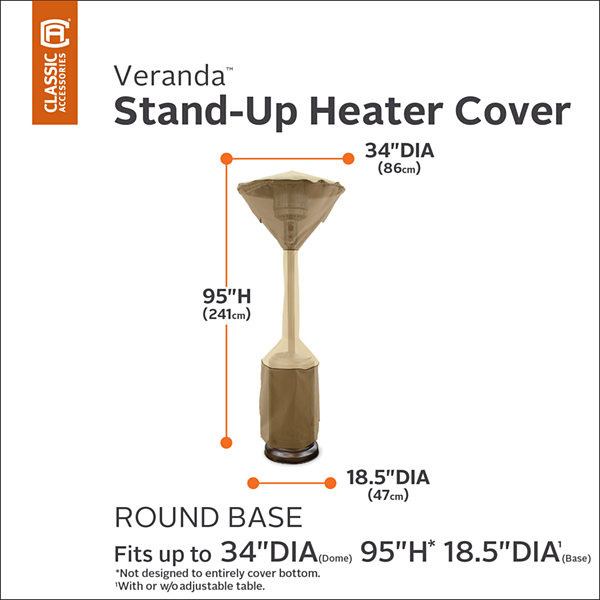 Classic Accessories® Veranda Stand-Up Heater Cover