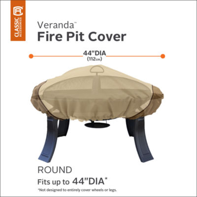 Classic Accessories® Veranda Round Fire Pit Cover