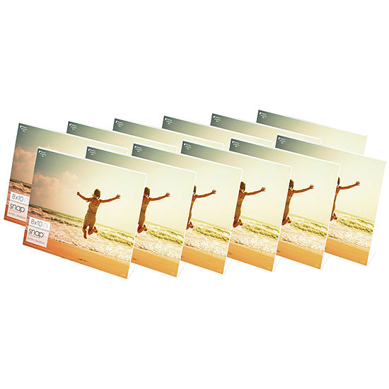 "Snap 10x8"" Horizontal Acrylic Frame- Set of 12"""
