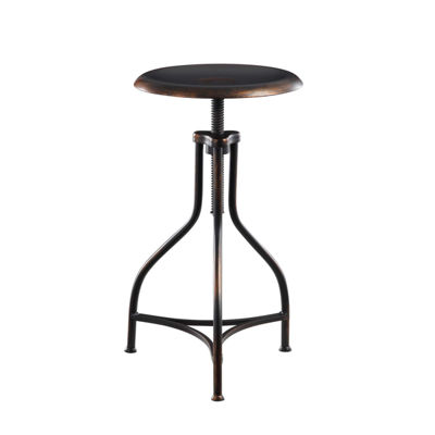 Adjustable Metal Bar Stool