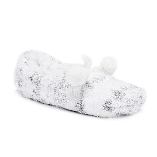 Muk Luks Noelle Womens Ballerina Slippers