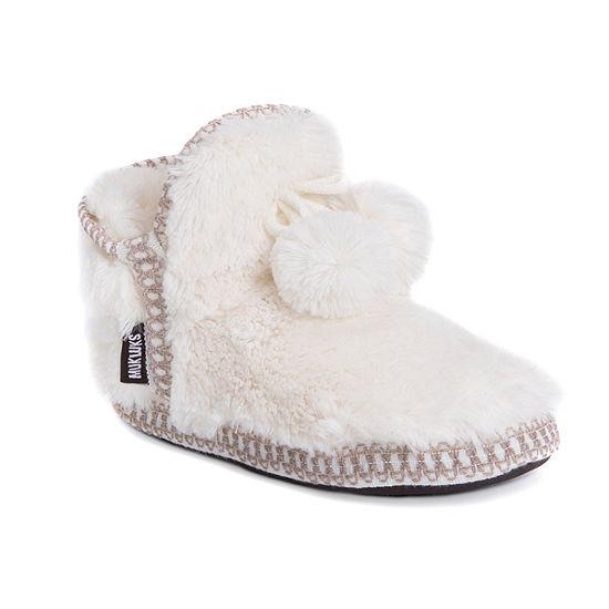 Muk Luks Amira Womens Bootie Slippers