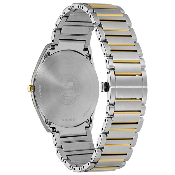 Citizen Mens Two Tone Bracelet Watch-Ar3074-54e