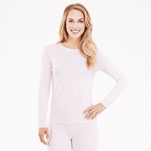 Cuddl Duds Crew Neck Thermal Shirt - Plus