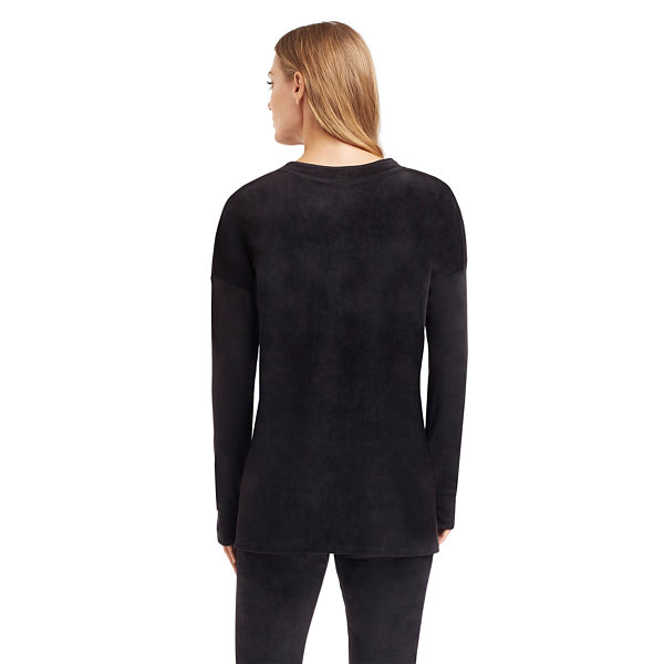 Cuddl Duds Plush Velour Thermal Shirt