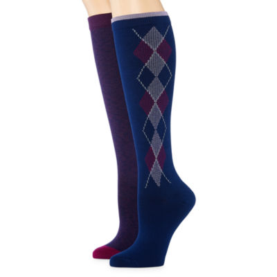 Mixit 2-pair Compression Knee High Socks
