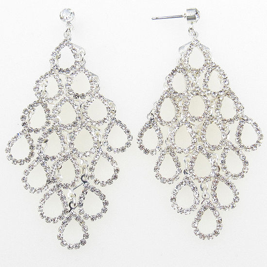 Vieste Rosa Chandelier Earrings