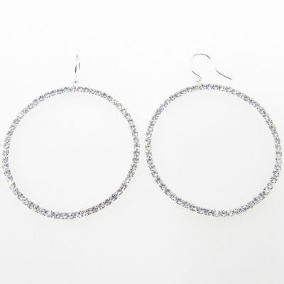 Vieste Rosa Brass Hoop Earrings