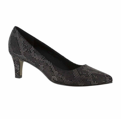 Easy Street Pointe Womens Pumps Slip-on Pointed Toe Spike Heel