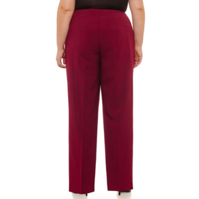 Black Label by Evan-Picone Classic Fit Trousers Plus