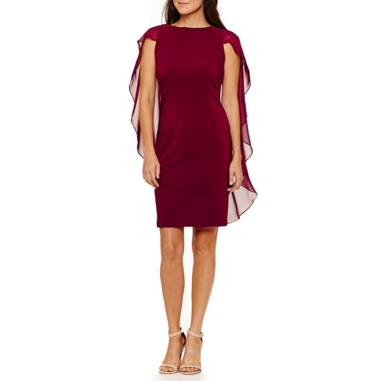 Melrose Sleeveless Sheath Dress-Petites
