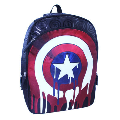 "Captain American 17"" Backpack"