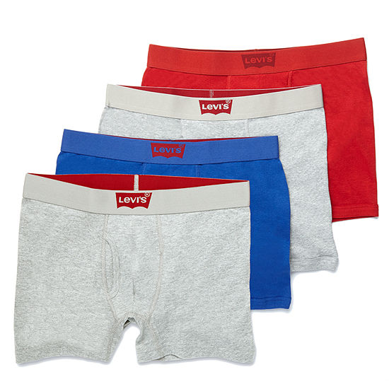 Levi's® 3-pk. Cotton Boxer Briefs + Bonus Pair