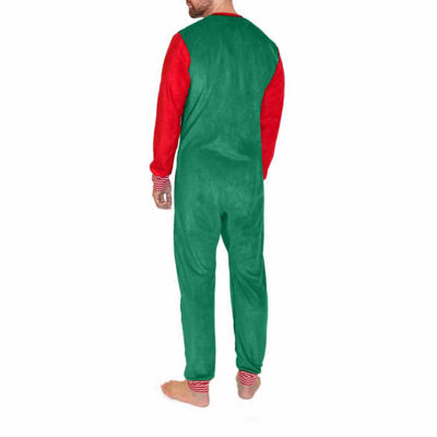 North Pole Trading Co. Elf One Piece Pajama- Men's