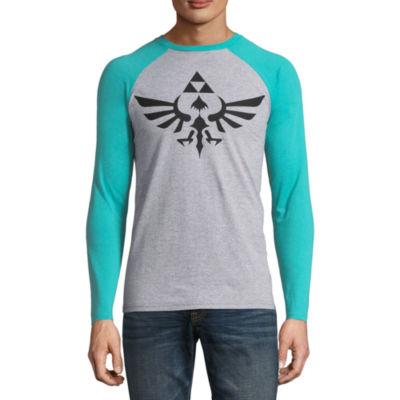 Zelda Logo Raglan