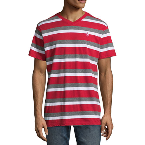 Akademiks Short Sleeve V Neck T-Shirt