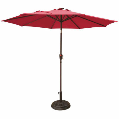sc 1 st  JCPenney & Outdoor Oasis 9ft LED Cranktilt Market Patio Umbrella JCPenney
