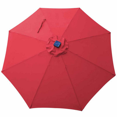 Outdoor Oasis 9ft LED Cranktilt Market Patio Umbrella