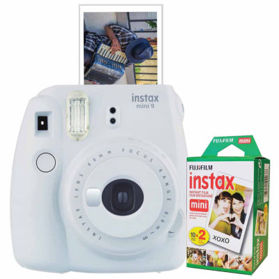 Fujifilm Instax Mini 9 Instant Photo Camera Bundle