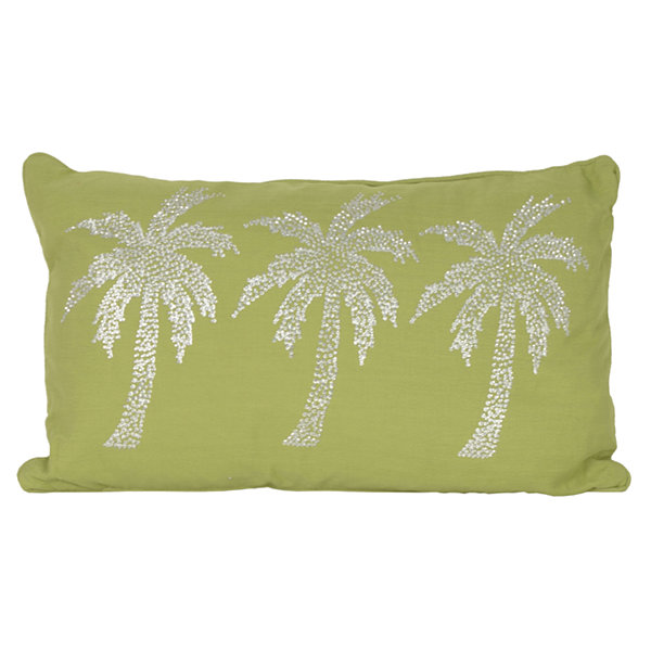 Thro by Marlo Lorenz Patty Palm Tree Throw Pillow