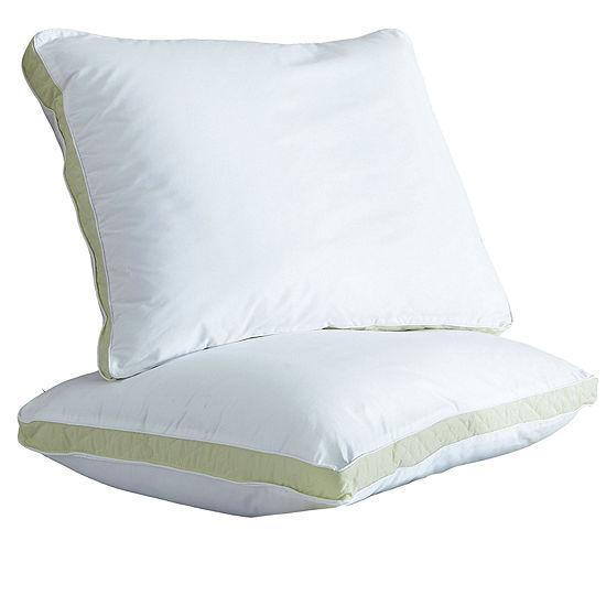 WellRest Quilted Sidewall Medium Density Pillow 2-Pack