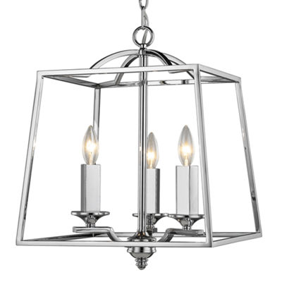 Athena 3-Light Pendant in Chrome