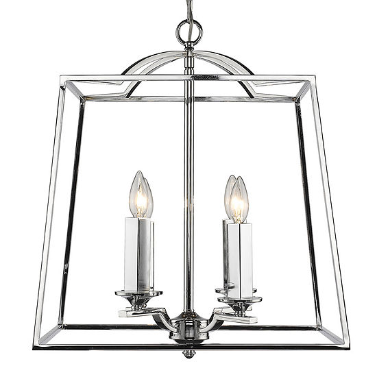 Athena 4-Light Pendant in Chrome