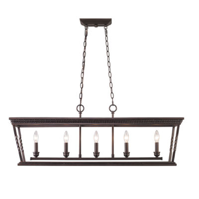 Davenport 5-Light Linear Pendant