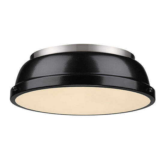 Duncan 14 Flush Mount In Pewter
