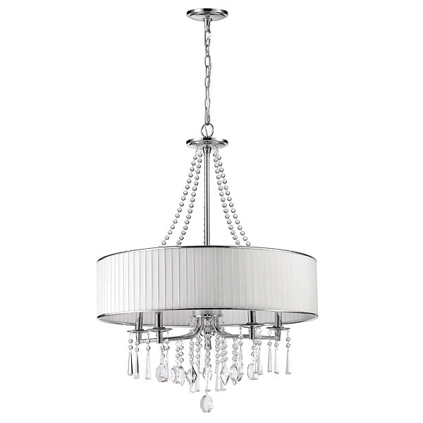 Echelon 5-Light Chandelier in Chrome