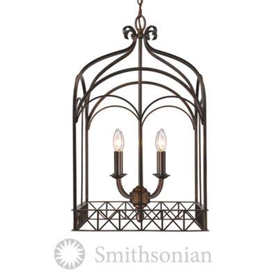 Gateway 4-Light Pendant in Fired Bronze