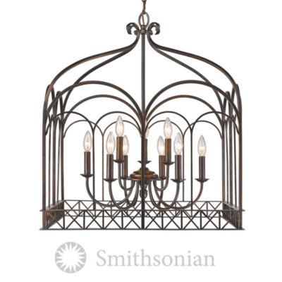 Gateway 9-Light Chandelier in Fired Bronze
