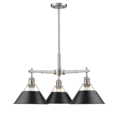 Orwell 3-Light Nook Chandelier in Pewter