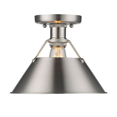 Orwell Flush Mount in Pewter