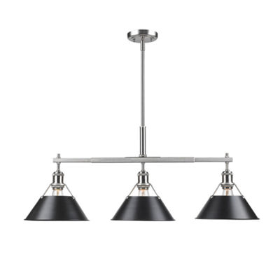 Orwell Linear Pendant in Pewter