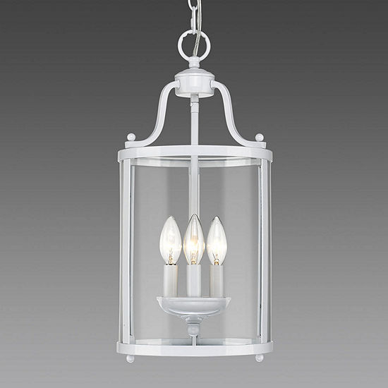 Payton 3 Light Pendant With Clear Glass
