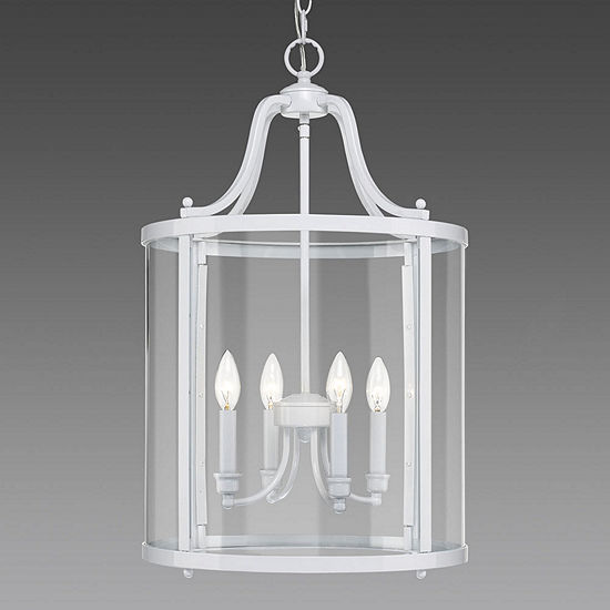 Payton 4 Light Pendant With Clear Glass
