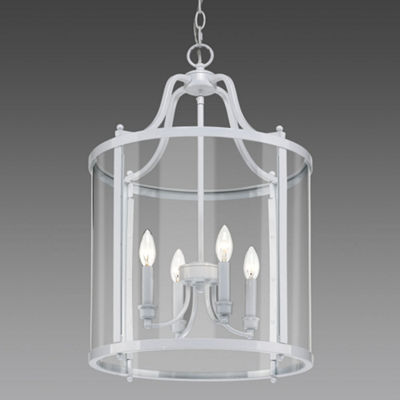 Payton 4-Light Pendant with Clear Glass